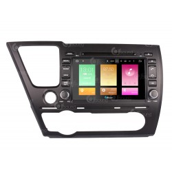 CUSTOM FIT JF-038HCA AUTORADIO HONDA CIVIC DAL 2012 ANDROID QUADCORE