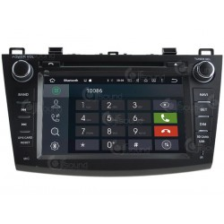 CUSTOM FIT JF-038M3A AUTORADIO MAZDA 3 DAL 2009 QUADCORE ANDROID