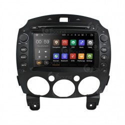 CUSTOM FIT JF-038M2A AUTORADIO MAZDA 2 DAL 2008 QUADCORE ANDROID