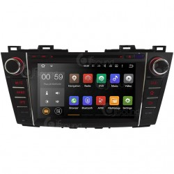 CUSTOM FIT JF-238M5A AUTORADIO MAZDA 5 DAL 2005 QUADCORE ANDROID