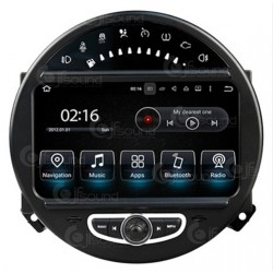 CUSTOM FIT JF-038M1A AUTORADIO MINI R55 R56 R57 R60 QUADCORE ANDROID