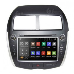 CUSTOM FIT JF-038MAO AUTORADIO MITSUBISHI ASX DAL 2011 OCTACORE ANDROID