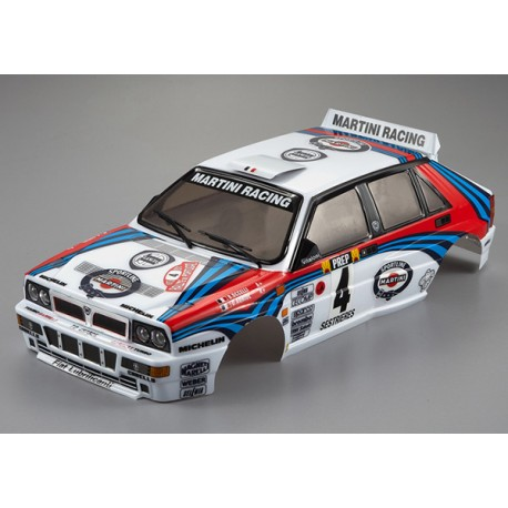 KILLERBODY Carrozzeria Lancia Delta HF Integrale Rally-racing 1:10 190mm