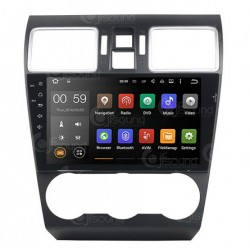 CUSTOM FIT JF-039SWA AUTORADIO SUBARU XV FORESTER ANDROID QUADCORE