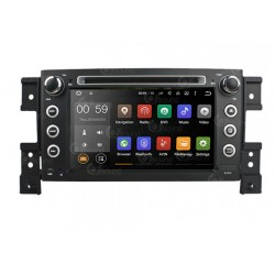 CUSTOM FIT JF-037SVA AUTORADIO SUZUKI GRAND VITARA DAL 2005 QUADCORE ANDROID