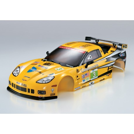KILLERBODY Carrozzeria Corvette GT2 Rally-racing 1:10 190mm