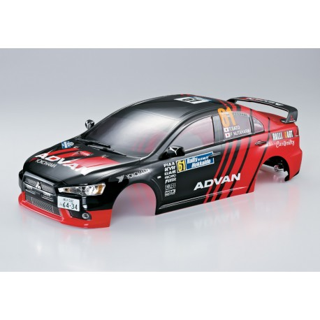 KILLERBODY Carrozzeria Mitsubishi Lancer EVO X 1:10 190mm