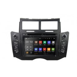 CUSTOM FIT JF-032TYO AUTORADIO TOYOTA YARIS DAL 2007 ANDROID OCTACORE