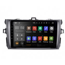 CUSTOM FIT JF-031T1O AUTORADIO TOYOTA COROLLA DAL 2008 ANDROID OCTACORE