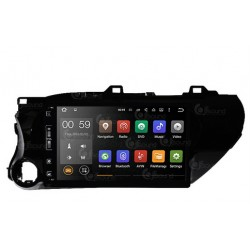 CUSTOM FIT JF-031THO AUTORADIO TOYOTA HILUX DAL 2012 ANDROID OCTACORE