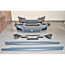 KIT ESTETICO COMPLETO IN ABS BMW SERIE 5 G30 LOOK M-TECH