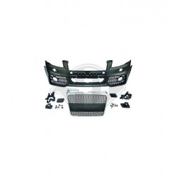PARAURTI ANTERIORE COMPLETO IN ABS AUDI A4 B7 LOOK RS4 NO PDC