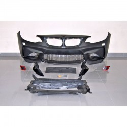 PARAURTI ANTERIORE IN ABS BMW SERIE 2 F22 F23 LOOK M2