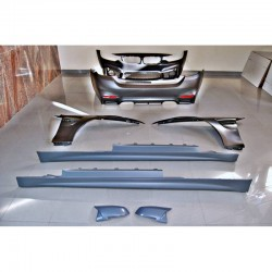 KIT ESTETICO COMPLETO IN ABS BMW SERIE 4 F32 LOOK M4