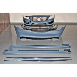 KIT ESTETICO COMPLETO IN ABS MERCEDES CLA W117 SW LOOK AMG