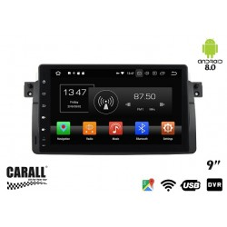 CUSTOM FIT Autoradio Android 8,0 BMW E46 GPS DVD USB SD WI-FI Bluetooth Navigatore