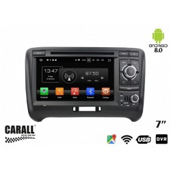 CUSTOM FIT Autoradio Android 8,0 Audi TT GPS DVD USB SD WI-FI Bluetooth Navigatore