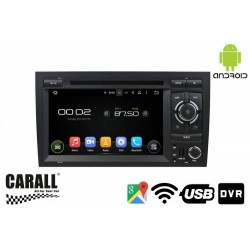 CUSTOM FIT Autoradio Android 8,0 Audi A4 GPS DVD USB SD WI-FI Bluetooth Navigatore