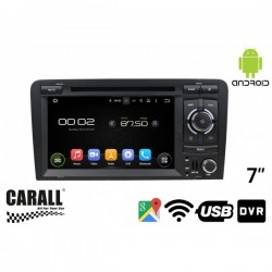 CUSTOM FIT Autoradio Android 8,0 Audi A3 GPS DVD USB SD WI-FI Bluetooth Navigatore