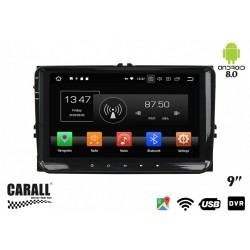 CUSTOM FIT Autoradio Android 8,0 VW Passat GPS DVD USB SD WI-FI Bluetooth Navigatore