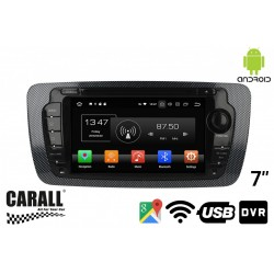 CUSTOM FIT Autoradio Android 8,0 Seat GPS DVD USB SD WI-FI Bluetooth Navigatore