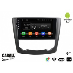 CUSTOM FIT Autoradio Android 8,0 Renault Kadjar GPS DVD USB SD WI-FI Bluetooth Navigatore