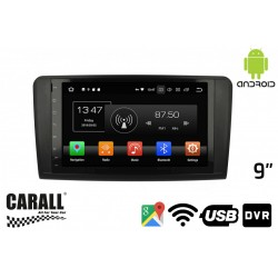 CUSTOM FIT Autoradio Android 8,0 Mercede Benz ML GPS DVD USB SD WI-FI Bluetooth Navigatore