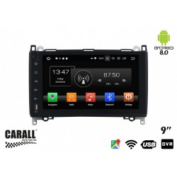 CUSTOM FIT Autoradio Android 8,0 Mercede Benz B200 GPS DVD USB SD WI-FI Bluetooth Navigatore