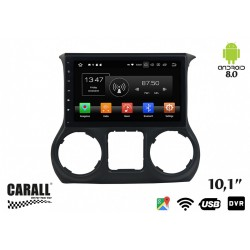 CUSTOM FIT Autoradio Android 8,0 Jeep Wrangler GPS DVD USB SD WI-FI Bluetooth Navigatore