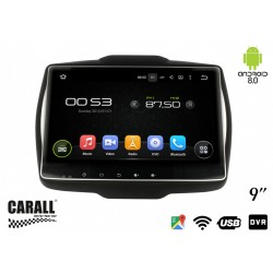 CUSTOM FIT Autoradio Android 8,0 Jeep Renagade GPS DVD USB SD WI-FI Bluetooth Navigatore