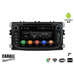 CUSTOM FIT Autoradio Android 8,0 Ford Mondeo GPS DVD USB SD WI-FI Bluetooth Navigatore