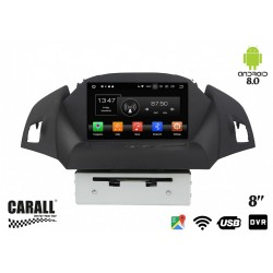 CUSTOM FIT Autoradio Android 8,0 Ford Kuga GPS DVD USB SD WI-FI Bluetooth Navigatore