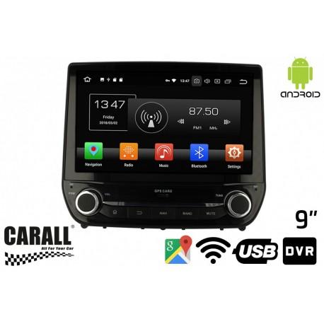 CUSTOM FIT Autoradio Android 8,0 Ford Fiesta GPS DVD USB SD WI-FI Bluetooth Navigatore