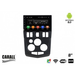 CUSTOM FIT Autoradio Android 8,0 Dacia Logan L90 GPS DVD USB SD WI-FI Bluetooth Navigatore