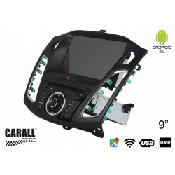CUSTOM FIT Autoradio Android 8,0 Ford Focus C MAX 2012-2015 GPS DVD USB SD WI-FI Bluetooth Navigatore