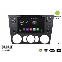 CUSTOM FIT Autoradio Android 8,0 BMW E90 GPS DVD USB SD WI-FI Bluetooth Navigatore