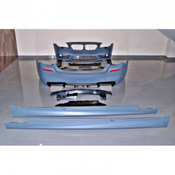 KIT ESTETICO COMPLETO IN ABS BMW SERIE 5 F10 LOOK M5