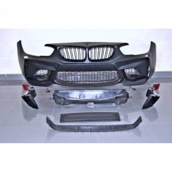 PARAURTI ANTERIORE IN ABS BMW SERIE 1 F20 F21 LCI LOOK M2