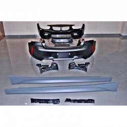 KIT ESTETICO COMPLETO IN ABS BMW SERIE 1 F20 LOOK M2