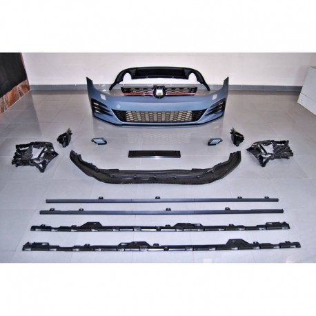 KIT ESTETICO COMPLETO IN ABS VOLKSWAGEN GOLF 7.5 GTI LOOK