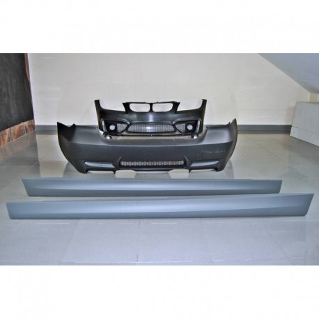 KIT ESTETICO COMPLETO IN ABS BMW SERIE 3 E90 / E91 LCI 2008 Look M4 ABS