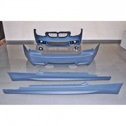 KIT ESTETICO COMPLETO IN ABS BMW SERIE 3 E92 E93 2010 2012 LCI LOOK M3