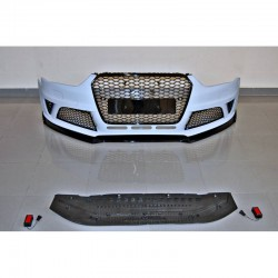 PARAURTI ANTERIORE IN ABS AUDI A4 B8 LOOK RS4