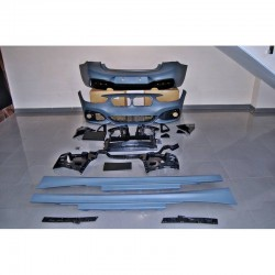 KIT ESTETICO COMPLETO IN ABS BMW SERIE 1 F20 F21 LCI LOOK M-TECH