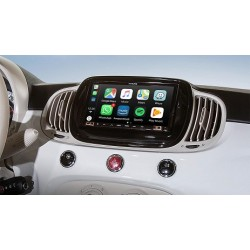 Alpine iLX-702D-500MCA FIAT 500 DAL 2015 Schermo 7'' con CARPLAY ANDROID AUTO