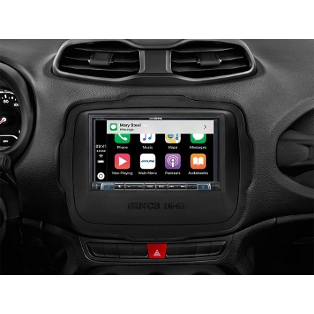 "Alpine iLX-702RN Sistema Audio Video da 7"" dedicato a Jeep Renegade Apple CarPla"