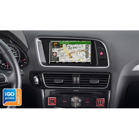 "Alpine X702D-Q5 Kit AUDI Q5 Navigatore MAPPE TOM TOM 7"" CAR PLAY ANDROID AUTO"
