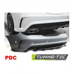 PARAURTI POSTERIORE IN ABS MERCEDES CLA W117 LOOK AMG