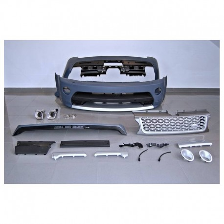 KIT ESTETICO COMPLETO IN ABS RANGE ROVER SPORT 2005 L320 look Autobiography