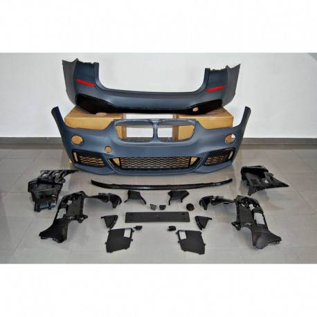 KIT ESTETICO COMPLETO IN ABS BMW X1 F48 LOOK M-TECH